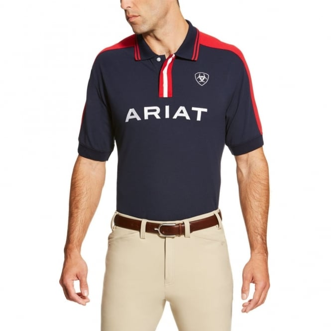 Ariat  Mens New Team Polo Shirt