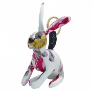 Joules Floral Hare Keyring