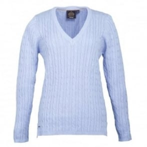 Toggi Opal V Neck Cable Knit Jumper
