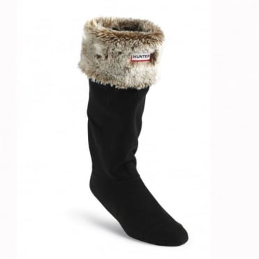 Hunter Grizzly Cuff Welly Sock