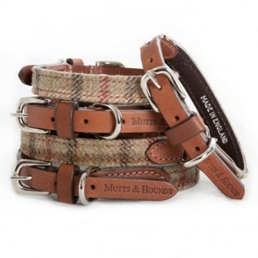 Mutts & Hounds Mutts & Hounds Balmoral Tweed Dog Collar