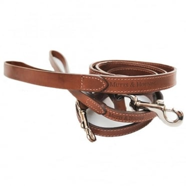 Mutts & Hounds Mutts & Hounds Leather Dog Lead