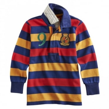 Joules Junior Wesley Rugby Shirt