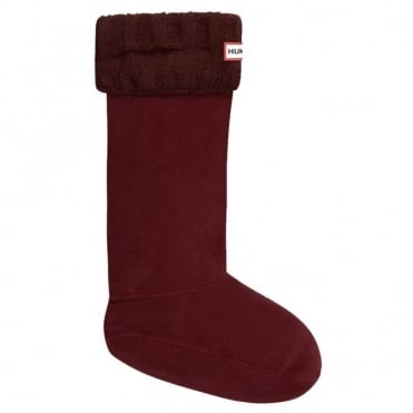 Hunter Guernsey Boot Sock