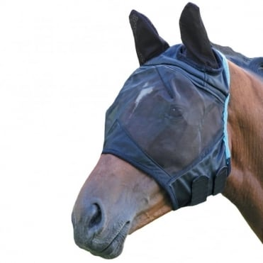 Shires Fine Mesh Fly Mask with Ears