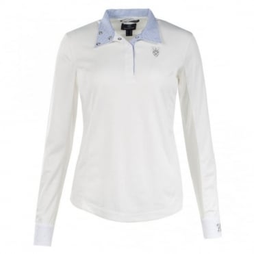Horze Crescendo Blaire Long Sleeved Competition Shirt
