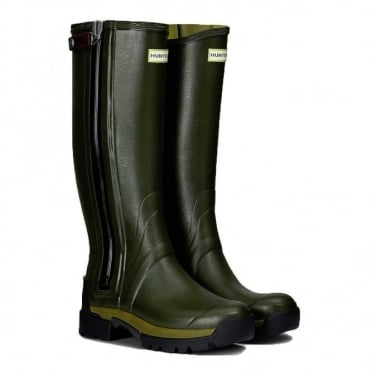 Hunter Mens Balmoral Technical Zip 3mm Neoprene Welly