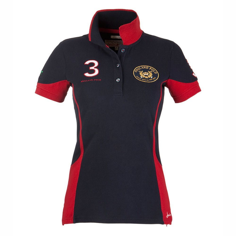 Joules womens england polo shirt for Woman s polo shirts