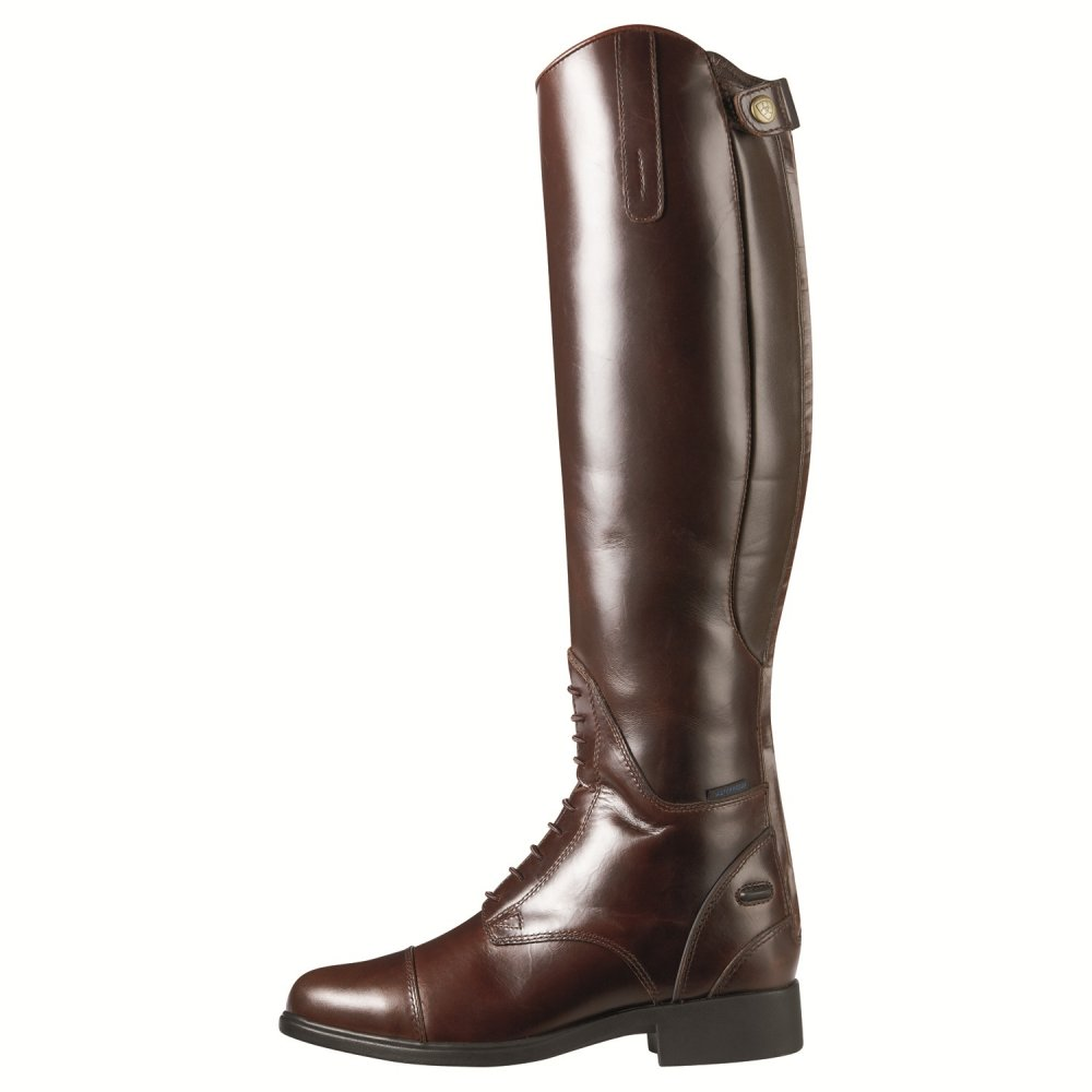 Ariat Bromont Tall H20 Non Insulated Waxed Chocolate Long Boot