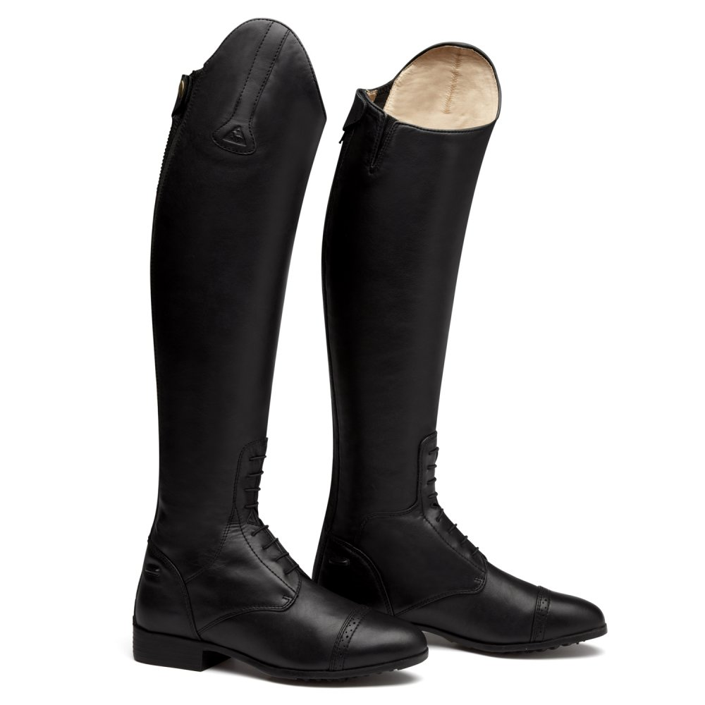 Lastest  Long Horse Riding Boots Womens Black Equestrian Shoes Footwear  EBay