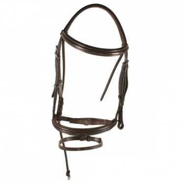 Amigo Deluxe Bridle with Rubber Reins