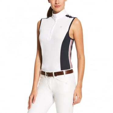 Ariat Aptos Fashion Sleeveless Colourblock Show Top