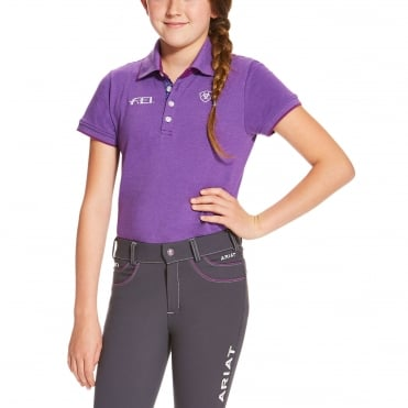 Ariat FEI Youth Polo Shirt