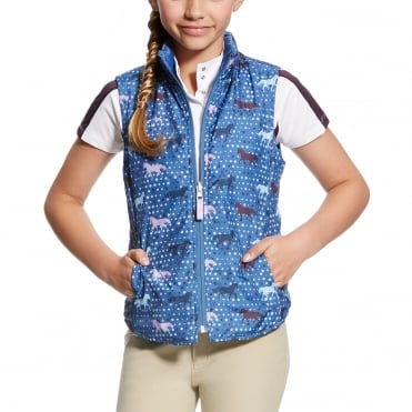Ariat Girls Emma Reversible Gilet