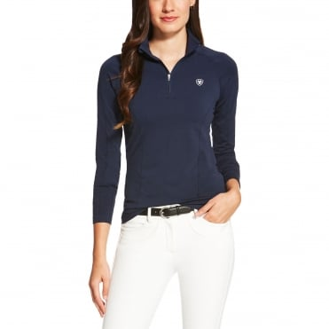 Ariat Odyssey Seamless Long Sleeved 1/4 Zip Top