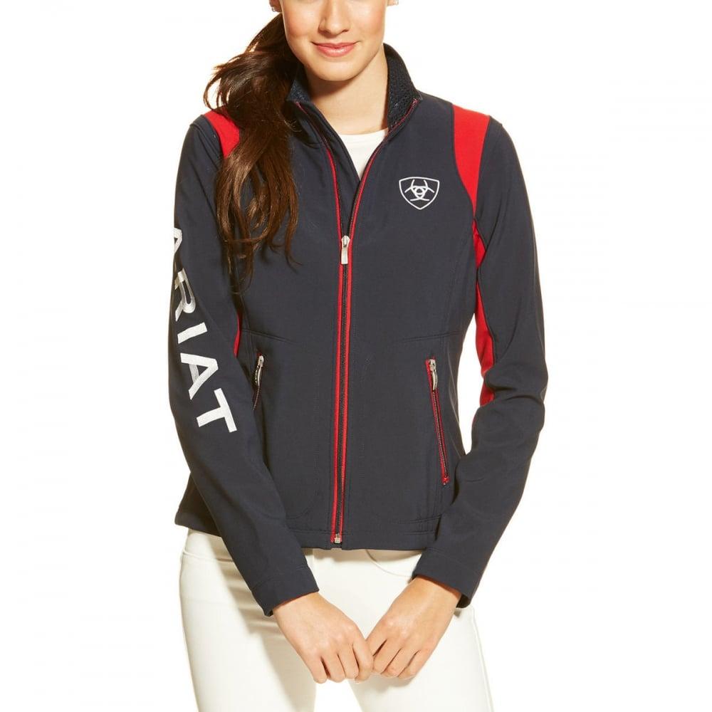 4666944b1c Ariat Womens Team Softshell Jacket
