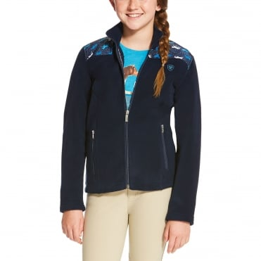 Ariat Youth Basis Full Zip Fleece Jacket