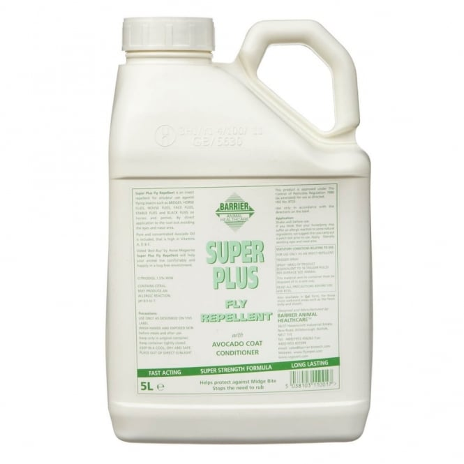 Barrier Super Plus Fly Repellent 5lt Refill
