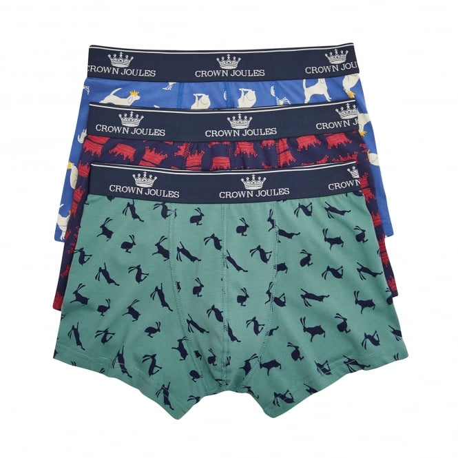 Joules Crown 3 Pack Boxers
