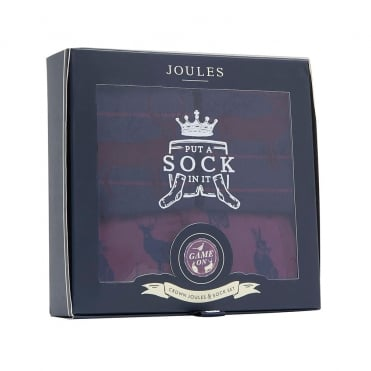 Crown Joules Boxers & Socks Gift Set