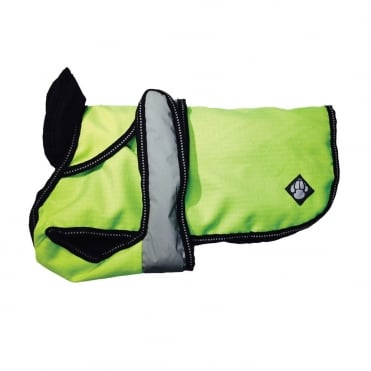 Danish Design Hi-Vis 2 in 1 Four Seasons Dog Coat