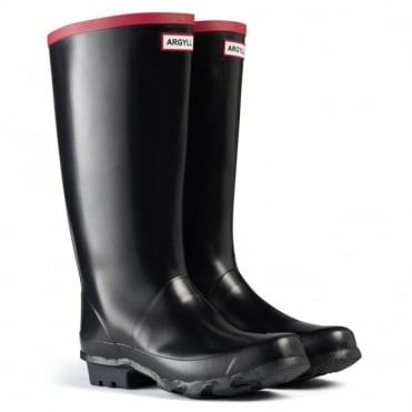Hunter Argyll Full Knee Welly