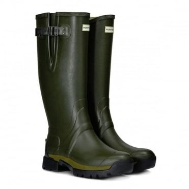 Hunter Mens Balmoral Side Adjustable 3mm Neoprene Welly