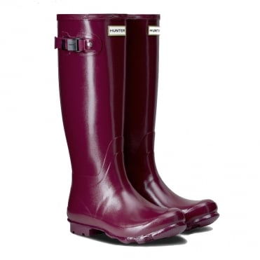 Hunter Norris Gloss Field Boot