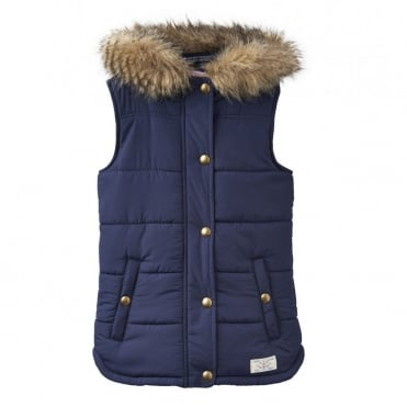 Joules Alanis Hooded Gilet (3-12 YR)