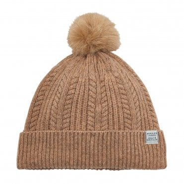 174efc09a55 Joules Cable Knit Bobble Hat