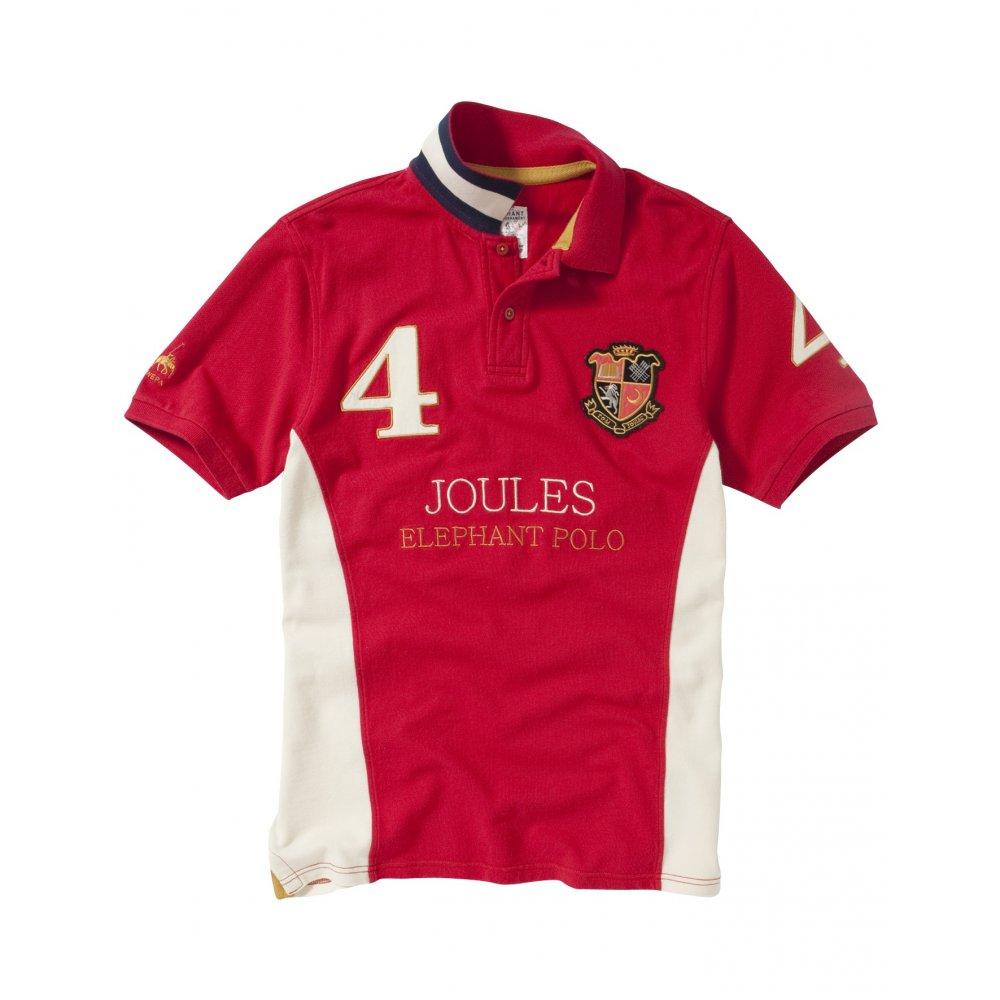Joules Chepwick Mens Elephant Polo Shirt