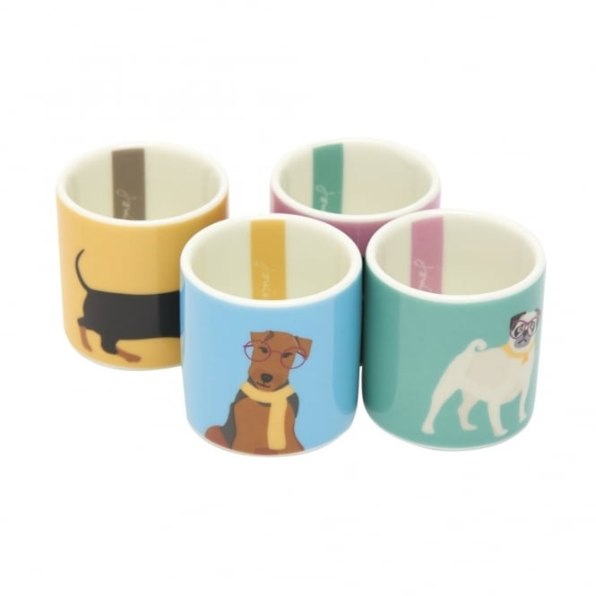 Joules Dippy Dog Egg Cups (Set of 4)