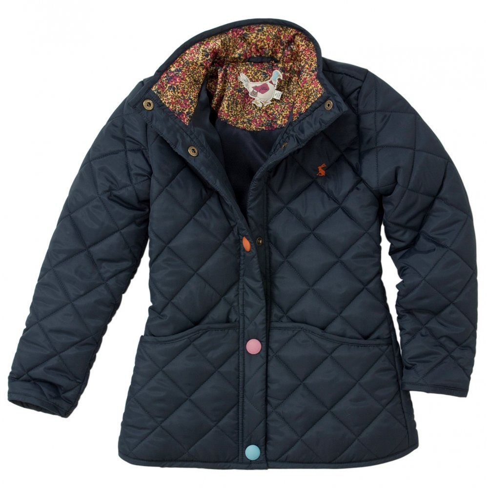 Joules Junior Beatrice Quilted Jacket | Girls Quilted Jacket