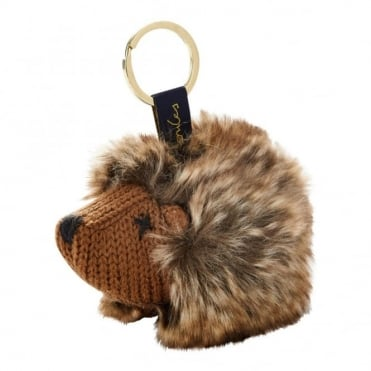 Joules Knitted Hedgehog Keyring