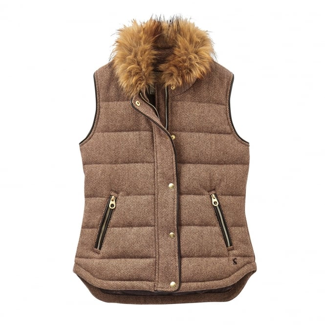 Joules Lauriston Tweed Gilet