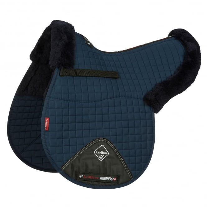 LeMieux Pro Lambswool Half Lined GP/Jumping Numnah
