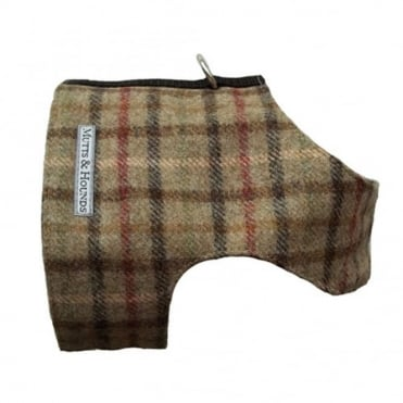 Mutts & Hounds Balmoral Tweed Harness