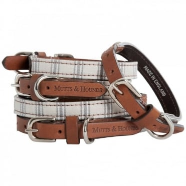 Mutts & Hounds Mist Ticking Dog Collar