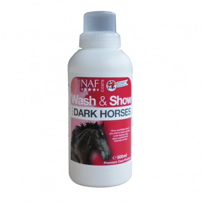 NAF Wash & Show Dark Shampoo 500ml