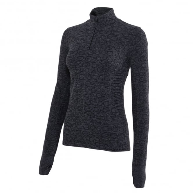 Noble Outfitters Revolution Seamless 1/4 Zip Top