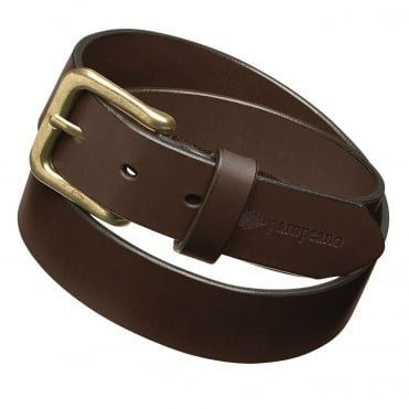 Pampeano Plain Leather Belt