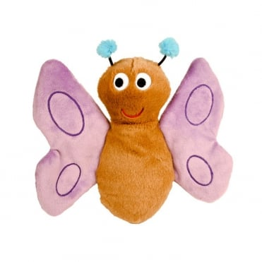 Petface Bunty Butterfly Dog Toy