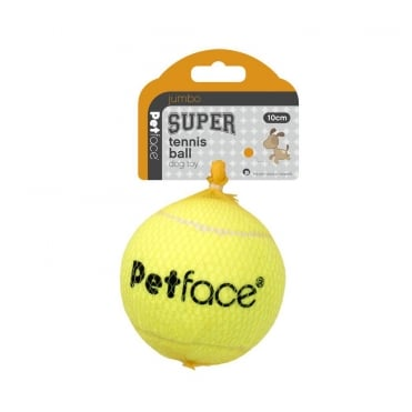 Petface Jumbo Super Tennis Ball 10cm