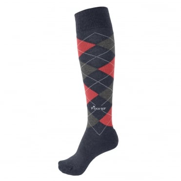 Pikeur Argyle Knee Length Socks
