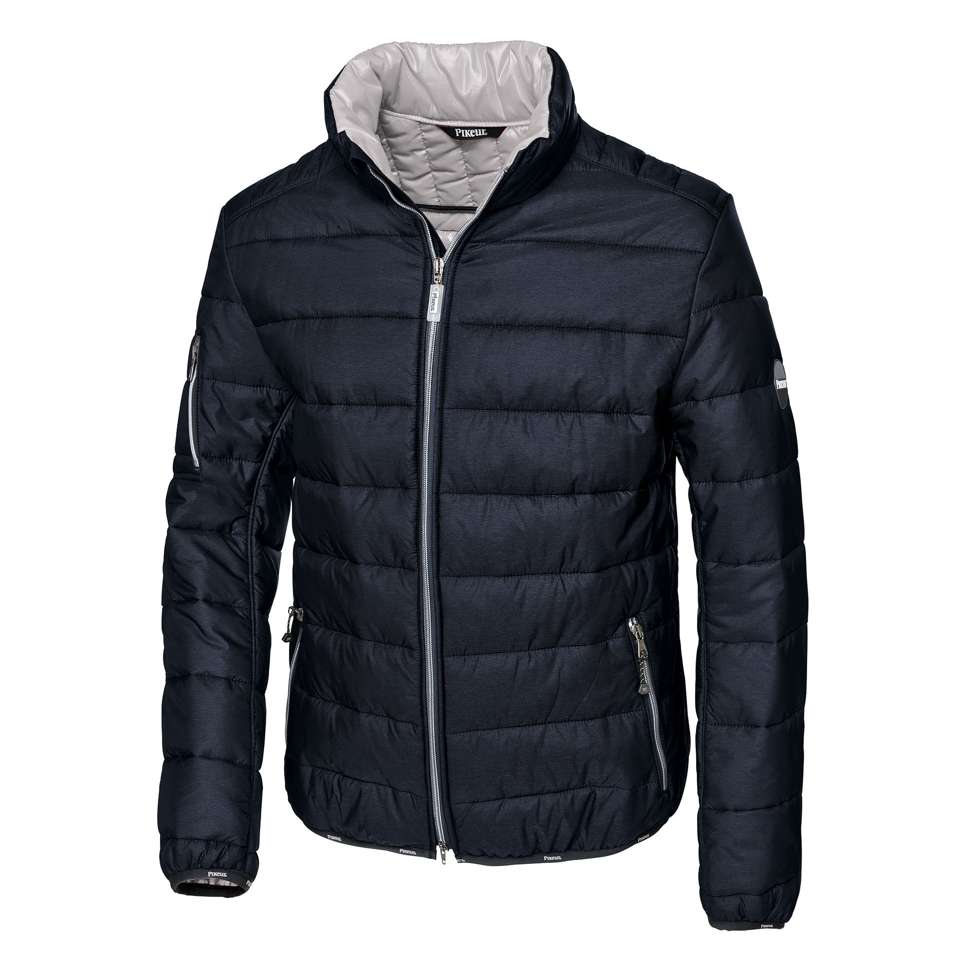 hooded quilt coat star crosshatch jacket quilted final lined mens winter itm soul padded puffer