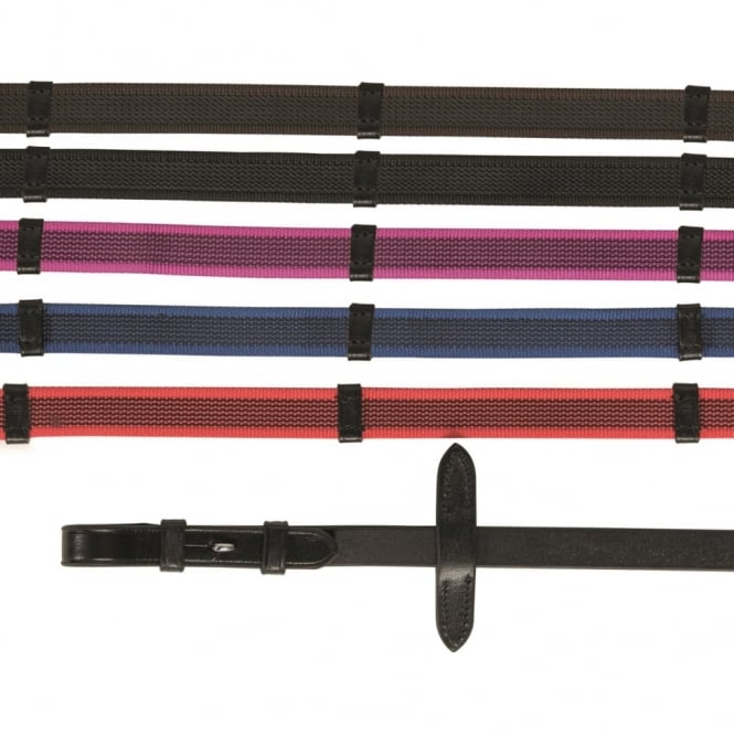 Shires Aviemore Continental Rubber Grip Reins