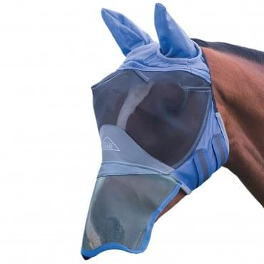 Shires Deluxe Fly Mask with Ears and Nose