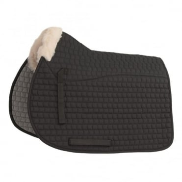 Shires Half Lined Fleece Saddlecloth
