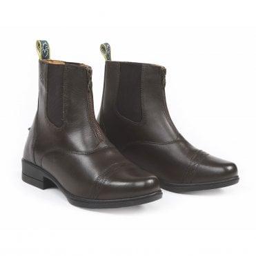 Unicorn Front Zip Black Horse Riding Jodhpurs Boots Women Au Ladies Size 5-10