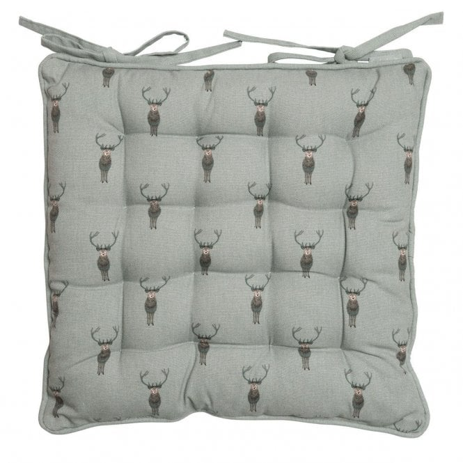 Sophie Allport Highland Stag Chair Pad